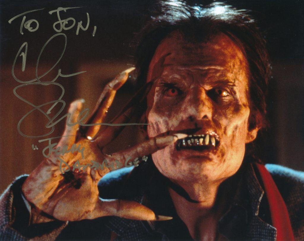 Chris Sarandon Autographed 8x10